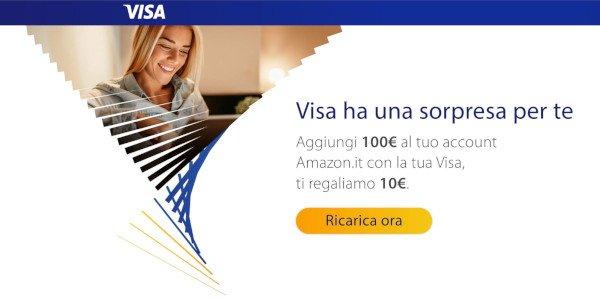 amazon buono carta visa