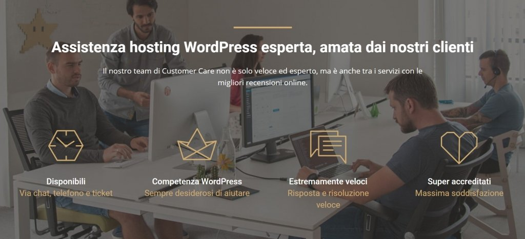 assistenza hosting siteground