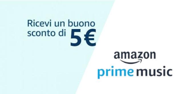 prime music 5 euro