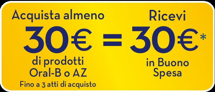 az oral-b 30€