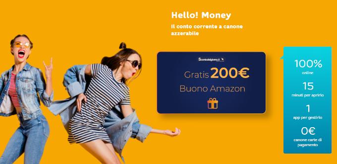 hello buono amazon da 200 euro